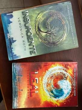 Libros INSURGENTE y LEAL de la saga Divergente