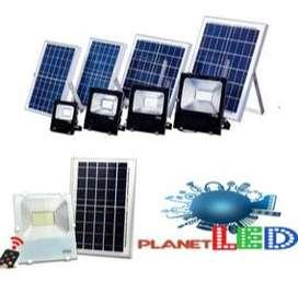 Reflector Led Panel Solar 20w 30w 40w 60w 100w 200w+control