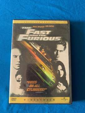 Dvd  The Fast and the Furious. Collector's Edition