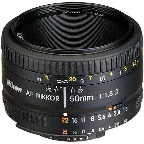 Lente Nikon 50 mm F-1-8D