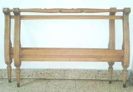 Cabecera y pie de cama estilo imperio napoleónico