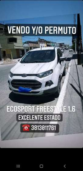Vendo Ecosport freestyle 1.6