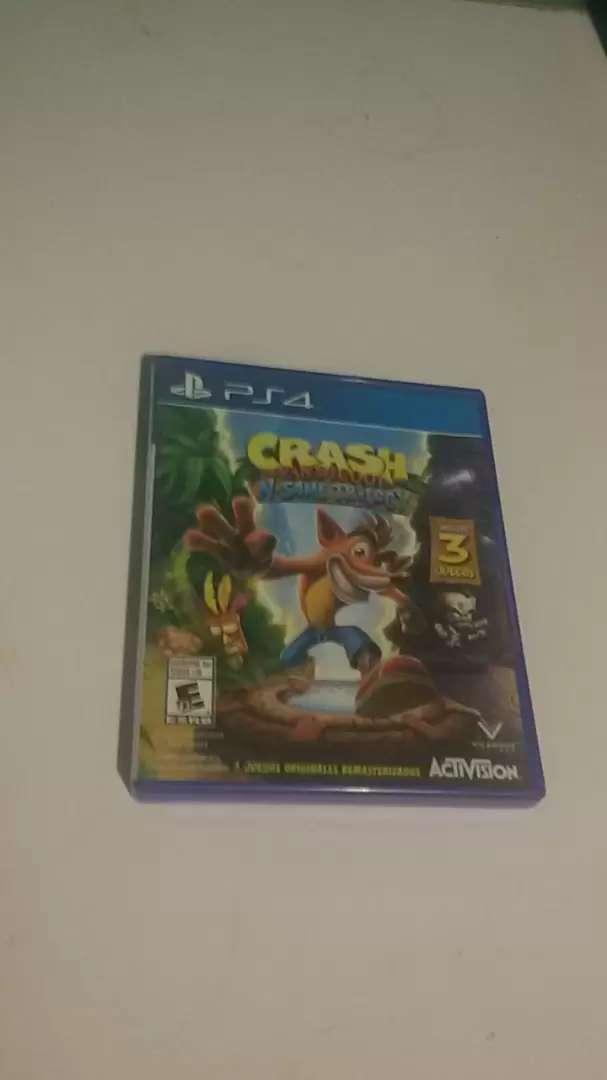 Crash Bandicoot N'sane Trilogy fisico nuevo Ps4 0