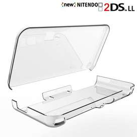 Nintendo 2ds Xl Cover Crystal Protector Transparente