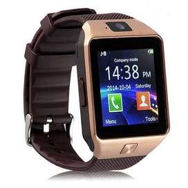 Reloj Inteligente Smartwatch Homologado My Mobile W201 Hero Dorado, Bluetooth.