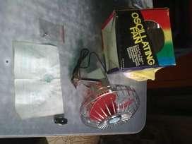 Ventilador oscilante para autos,lanchas,micros,camionetas,etc.,nuevo, sin uso en caja original.