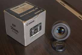 Canon EF 50mm f/1.8 STM y Filtro Polarizado Vivitar