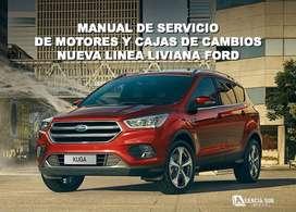 Manual de Servicio de Motores y Cajas de Cambio FORD Línea Liviana