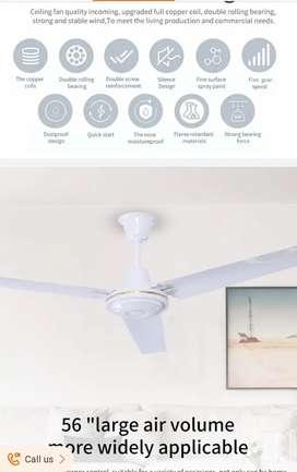 Ventilador de techo Tipo comercial. 75W 110V