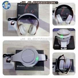 Audífono Inalámbrico Bluetooth Potente Alta Calidad Sonido, Radio Fm, Super Bass, Mini SD