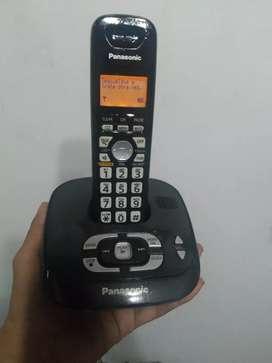 TELEFONO INALAMBRICO PANASONIC CONTESTADOR Y GRABADORA