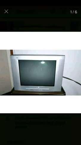 Televisor funcionando