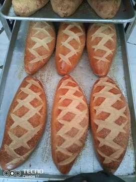 Busco trabajo como panadero