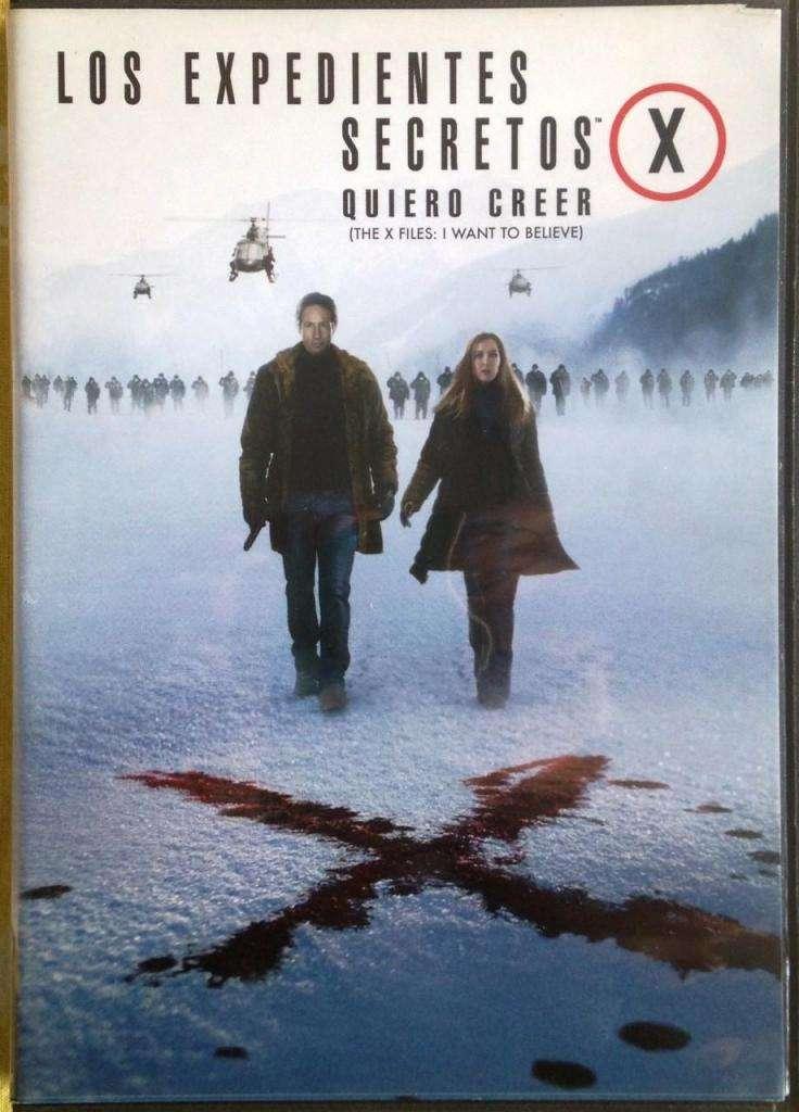 Dvd - Los Expedientes Secretos X - Quiero Creer 0