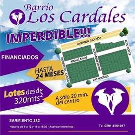TERRENOS FINANCIADOS HASTA EN 24 CUOTAS!!!