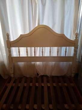 Vendo cama de 2 plazas