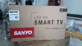 Smart tv marca SANYO de 32 pulgadas