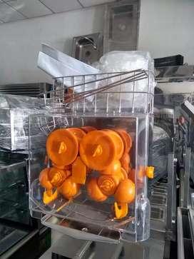 capuchineras y máquinas de jugo de naranja