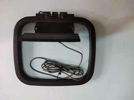 Antena tipo loop equipo de sonido