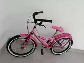 Bicicleta niña en  excelente estado