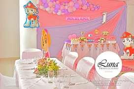Salón y decoración de fiestas infantiles
