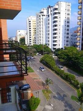 Apartamento amoblado 2 habitaciones Pinares Pereira
