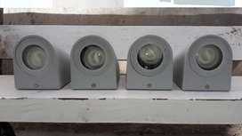 Vendo 4 apliques difusor pared exterior-interior
