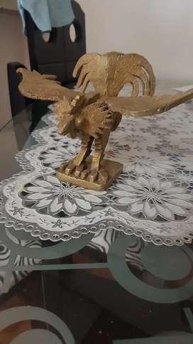 Gallo en bronce