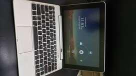 Tablet tipo mini Laptup Huawei original con su respectivo cargador y teclado desmontable
