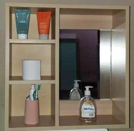 Mueble organizador de baño