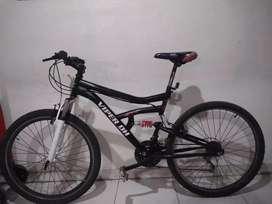 Bicicleta doble suspension económica