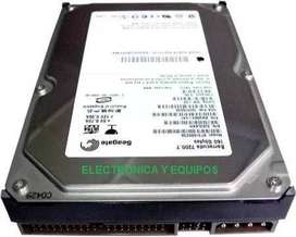 Disco Duro Ide/sata 40GB 80GB 160Gb Garantizados Desktop/portables