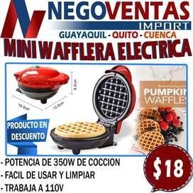MINI GUAFLERA ELECTRICA EN DESCUENTO EXCLUSIVO DE NEGOVENTAS
