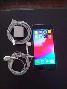 Vendo iphone 6 de 16 gbs sin huella