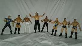 Vendo cambio coleccion figuras lucha libre wwf