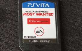 Juegos PS VITA need for speed