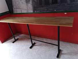Vendo 3 Mesas Mide 2,40x50cm