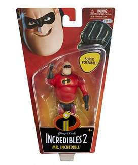 Mr. Incredible Figura de Accion de Disney – Jakks – 11 cm