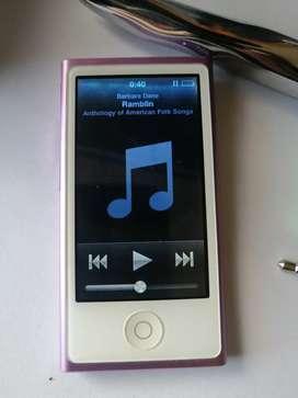 iPod nano 7genetacion 16 gb Touch radio Bluethoot apple con manchita pantalla sombra