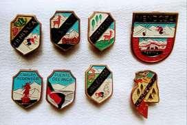 Lote 8 Pins de Mendoza Vintage