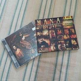 2 Discos originales de Maná