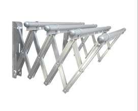 Tendedero plegable en aluminio, reforzado, muy resistente.