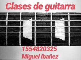 Clases de Guitarra ONLINE (Eléctrica y criolla)