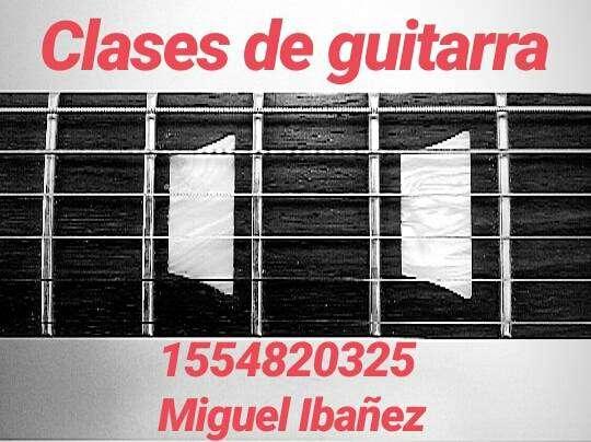 Clases de Guitarra ONLINE (Eléctrica y criolla) 0