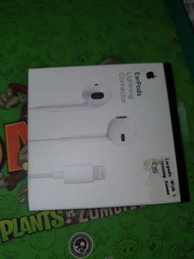 Vendo Audifonos Iphone blancos