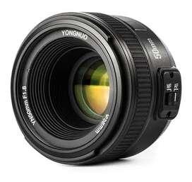 Se vende Lente Yongnuo 50mm F1.8 Para Nikon
