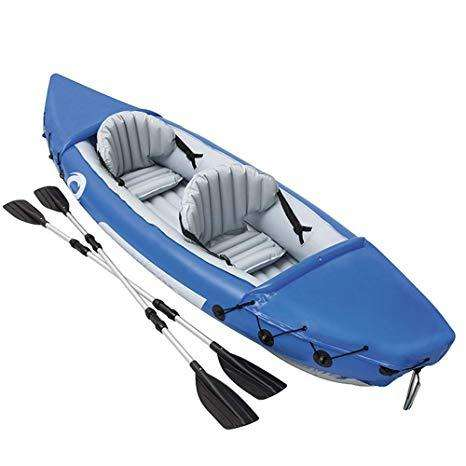 Kayak doble inflable 0