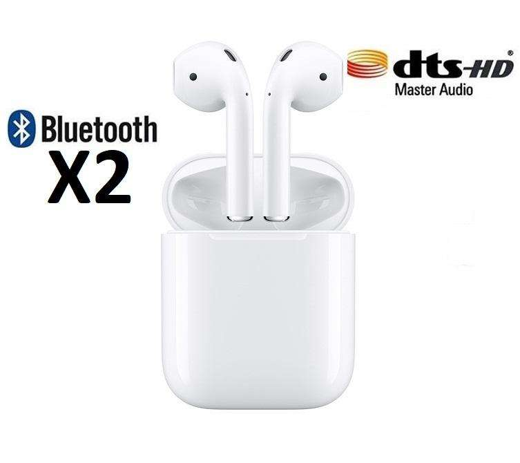 Audifonos inalambricos Airpods Bluetooth 4.2 Auriculares Iphone Android Nuevo 0