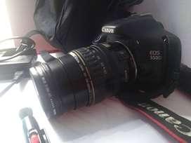 Canon EOS Rebel t2i/ eos 550d + lente canon EF 28-105mm f/3.5-4.5 + estuche