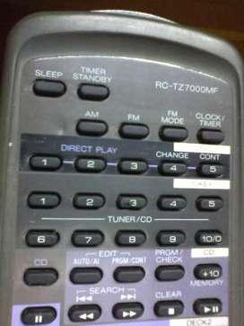CONTROL AIWA ZD7000